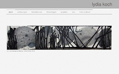 Jimdo Website Lydia Koch